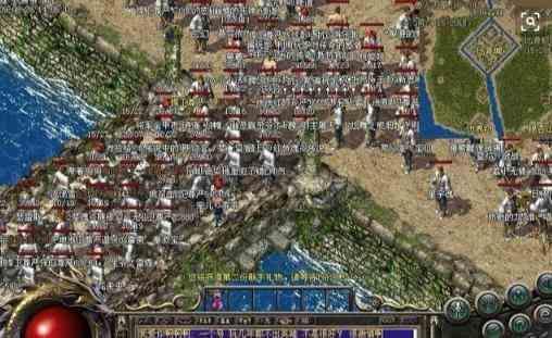 邪之金币传奇合击的荒原地图介绍 金币传奇合击 第1张